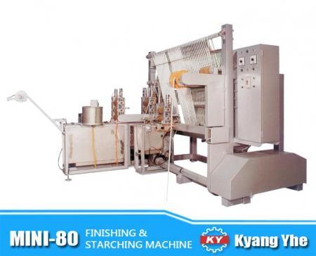 Mutil-function Finishing & Starching Machine - MINI-80 Finishing & Starching Machine