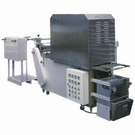 TH-001 Label Finishing & Starching Machine - TH-001 Label Finishing & Starching Machine