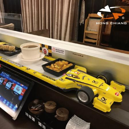 Bullet Train Delivery System - Racing Car