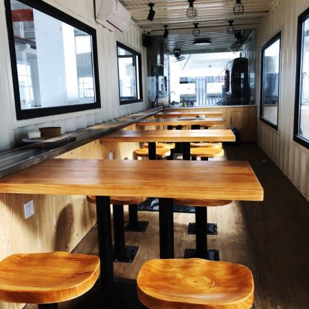 貨櫃型智動化送餐系統餐廳
