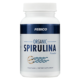 Organic Spirulina Tablets A+ - FEBICO Organic Spirulina A+