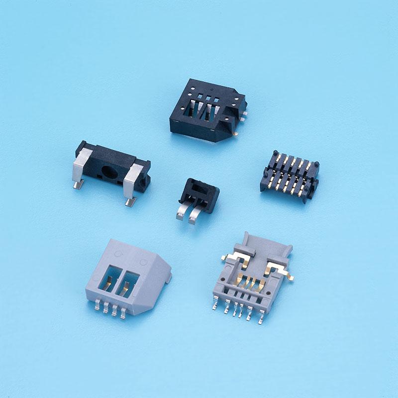 Conector médico com tipo SMT, compatível com a diretiva RoHS.
