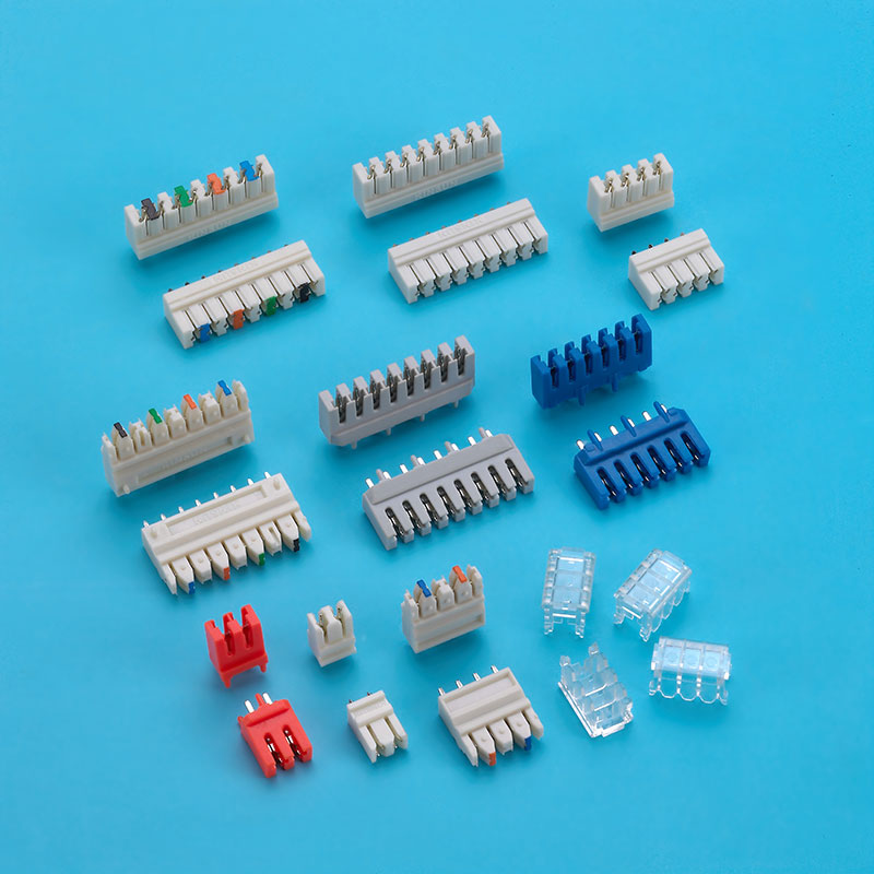 IDC Connector, PCB Plug, Mobile Phone Connector and AC Power.