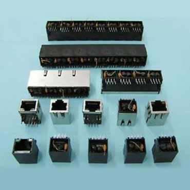 Magnetic PCB Jack