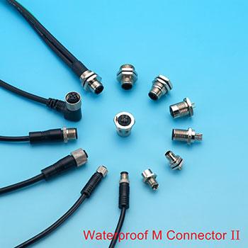 M8 커넥터, M12 커넥터