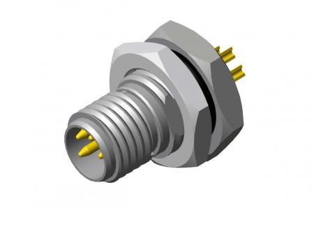 M8 Male Waterproof Connectors - M8 Waterproof Connectors