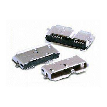 Receptáculo Micro-AB USB 3.0 - Receptáculo Micro-AB USB 3.0