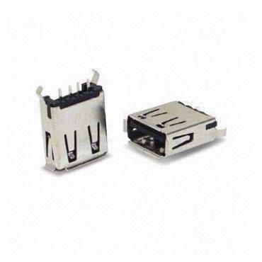 Vertical Mini USB Connector - USB 3.0 Standard-A Receptacle