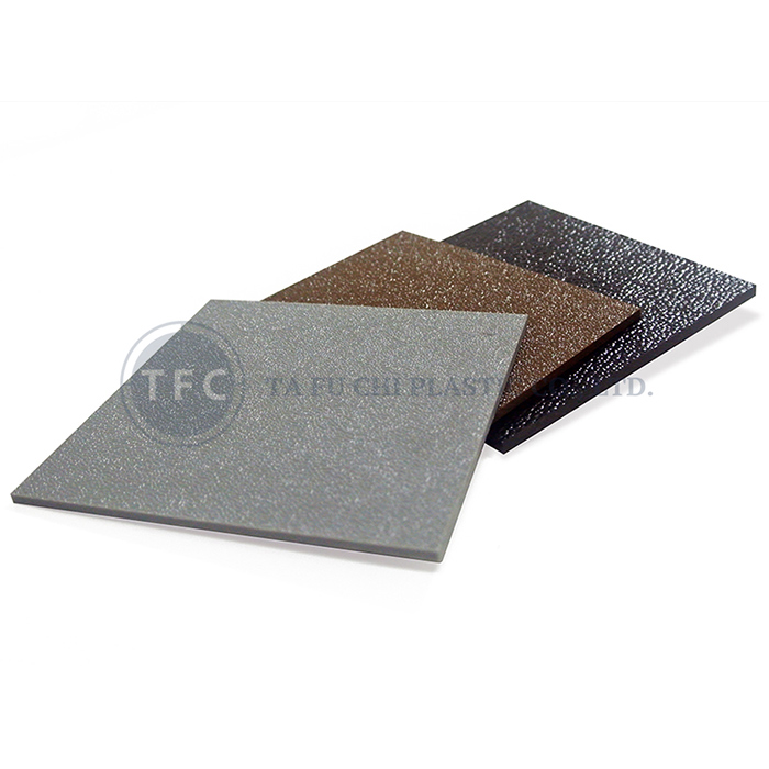 Main product in TFC Plastics is ABS Sheet.