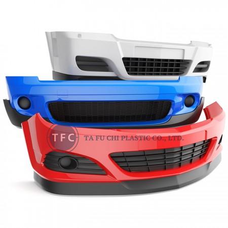 ABS材料は自動車部品として適している。
