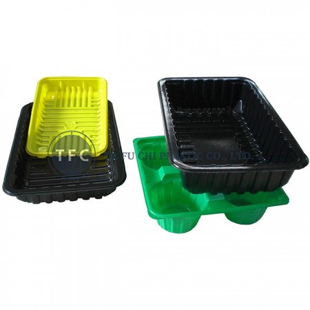 HDPE is a safe material for food container.