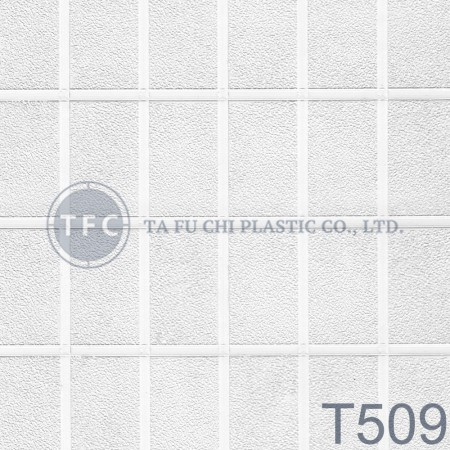 GPPS Embossed Sheet -T509 - The feature of PS embossed sheets is diversification of patterns.