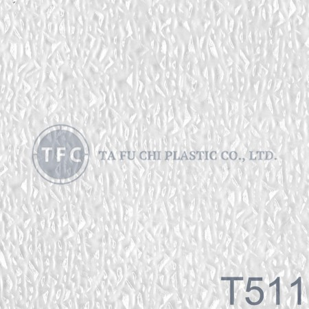 GPPS Embossed Sheet -T511 - The feature of PS embossed sheets is diversification of patterns.