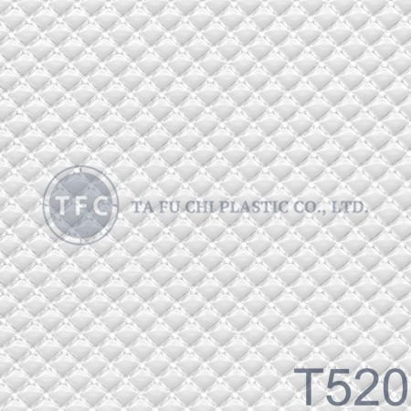 GPPS Embossed Sheet -T520 - The feature of PS embossed sheets is diversification of patterns.