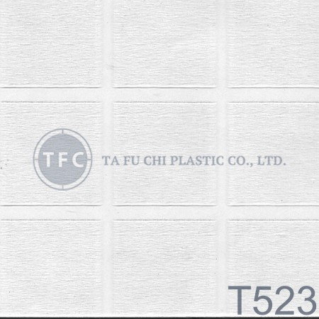 GPPS Embossed Sheet -T523 - The feature of PS embossed sheets is diversification of patterns.