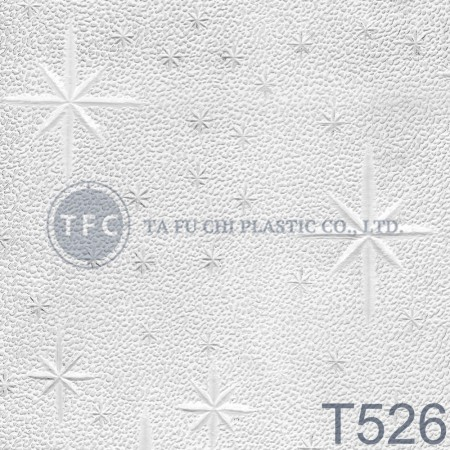 GPPS Embossed Sheet -T526 - The feature of PS embossed sheets is diversification of patterns.