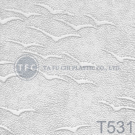 GPPS Embossed Sheet -T531 - The feature of PS embossed sheets is diversification of patterns.