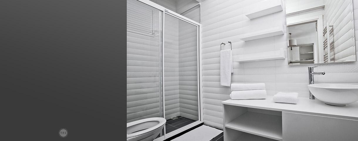 PS Embossed Sheet Shower Door Solutions