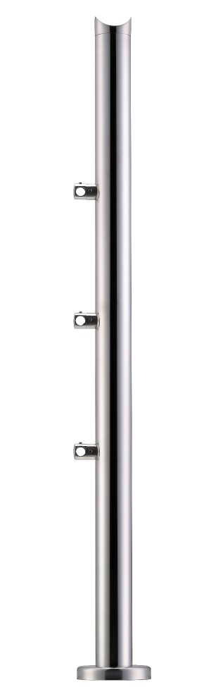 Stainless Steel Balustrade Posts - Tubular SS:2020377A