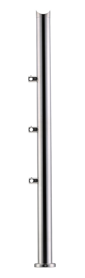 Stainless Steel Balustrade Posts - Tubular SS:2020378A