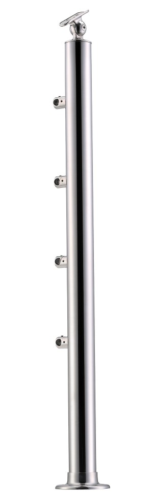 Stainless Steel Balustrade Posts - Tubular SS:2020456A