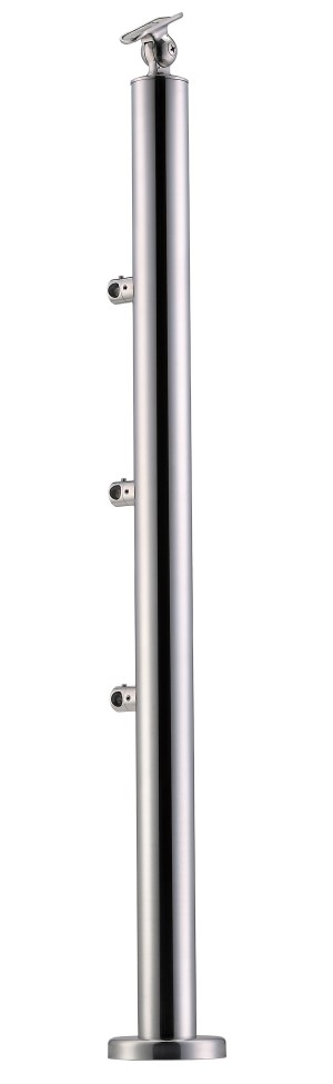 Stainless Steel Balustrade Posts - Tubular SS:2020357A