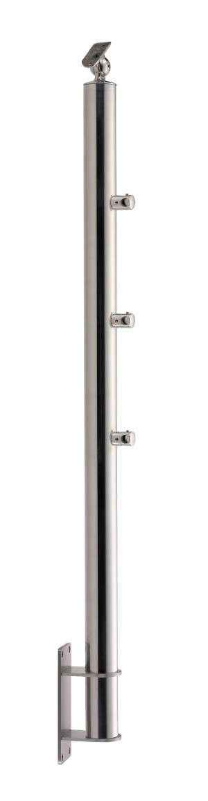 Stainless Steel Balustrade Posts - Tubular SS:2020359A