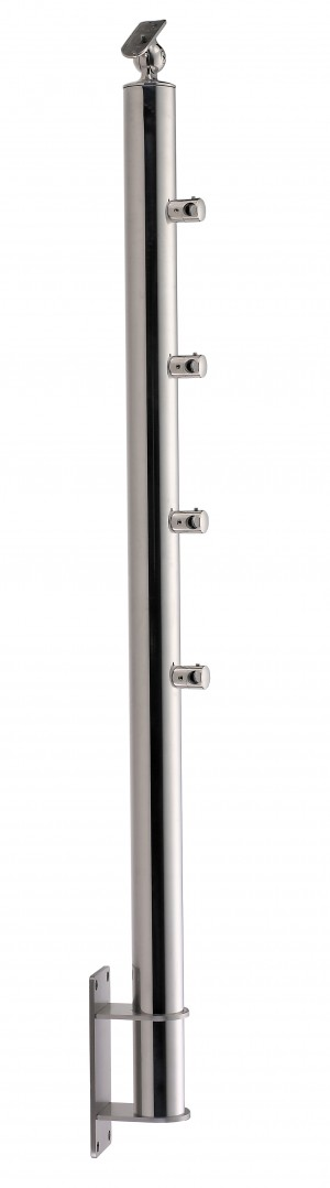 Stainless Steel Balustrade Posts - Tubular SS:2020459A