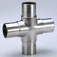 Flush Joiner 4-Way Cross (SS: 42410E) SS: 42410E