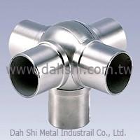 Ball Type Flush Joiner 5 - Way Tee Hoek Adj.  (SS: 424100E-5) SS: 424100E-5