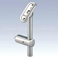Handlaufstütze mit Radius und Winkel einstellbar (SS: 42444A) SS: 42444A