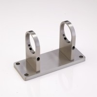 Balustrade Post Mounting Brackets, Stainless Steel