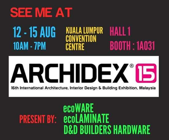 Malaysia ARCHIDEX 2015