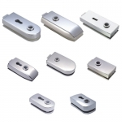 Glass Lever Fittings - Glass lever fitting to control door's entrance and exit