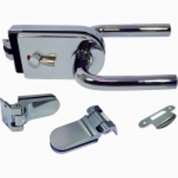 Glass Patch Locks - Glass patch lock