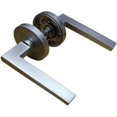 Рычажные ручки - Дверные ручки Leverset, Ручки с ручками для трубчатых рычагов.
