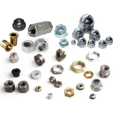 Nut Fasteners - Fixing Fasteners, Bolts, Screws and Nuts.