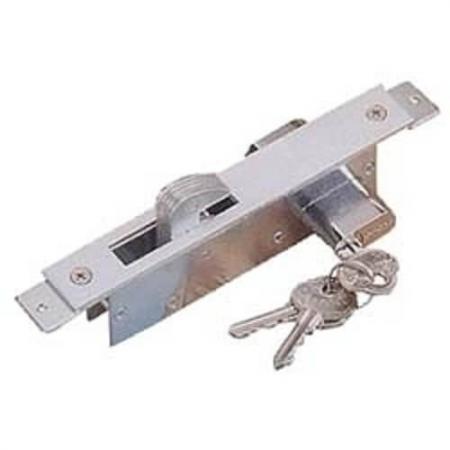 Sliding Door Hookbolt Lock - Oval Cylinder, Hook Bolt slding door lock