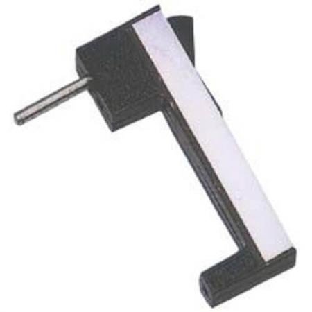 Sliding Handles - Front fixed central handle in aluminium.