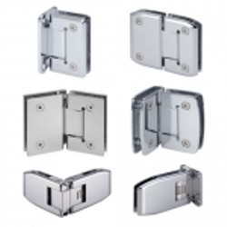 Adjustable Glass Hinges - Adjustable glass hinge