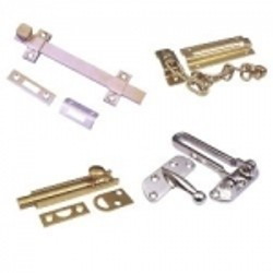 Door Guards - Door flip guard, chain guard & slide bolt for door security.