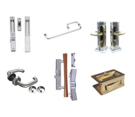 Door Handles - Lever handle, storm door handle, sliding door handle, flushmount handle