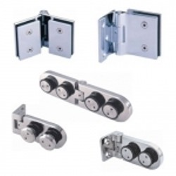 Non-spring Glass Hinges - Glass hinge without spring inside