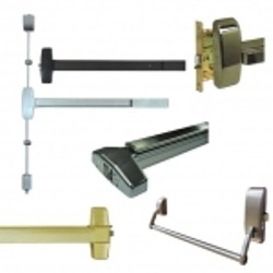Exit Devices/ Panic Bars - Panic bar and exit device