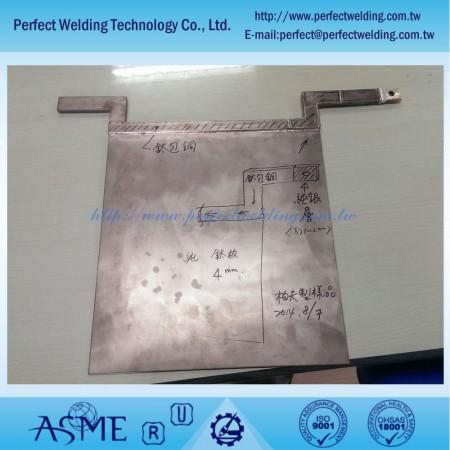 Silver Clad Copper Welding