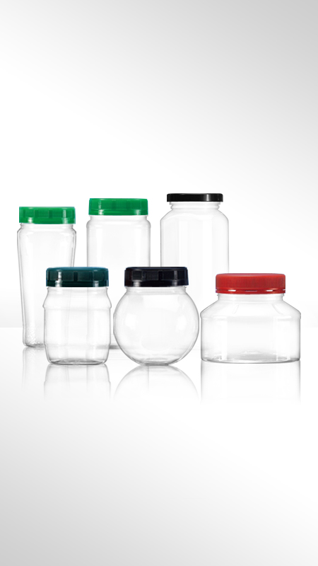 PET 63mm series Wide Mouth Jar