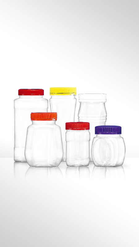 PET 53mm series Wide Mouth Jar