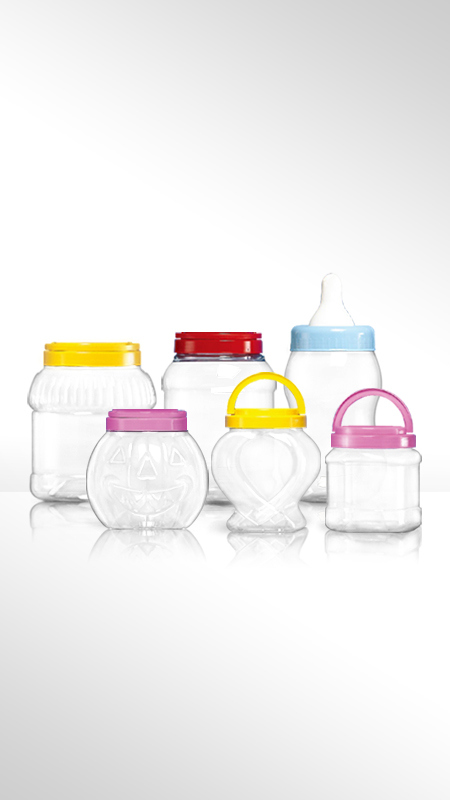 PET 120mm series Wide Mouth Jar