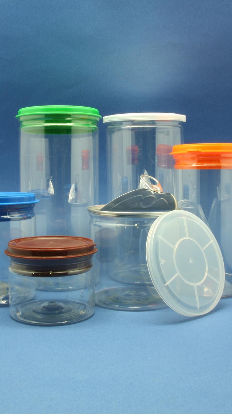 PET Aluminum/Plastic Easy Open Can