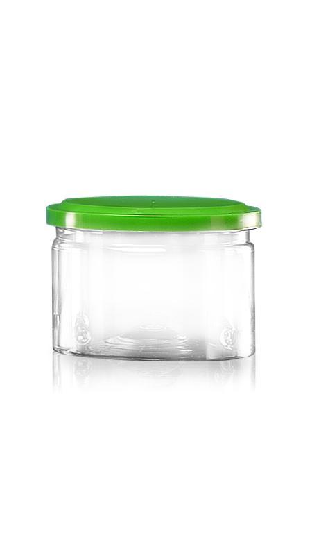 PET Aluminum / Plastic Easy Open Can (307-300) - Pet-Plastic-Bottles-Round-307-300